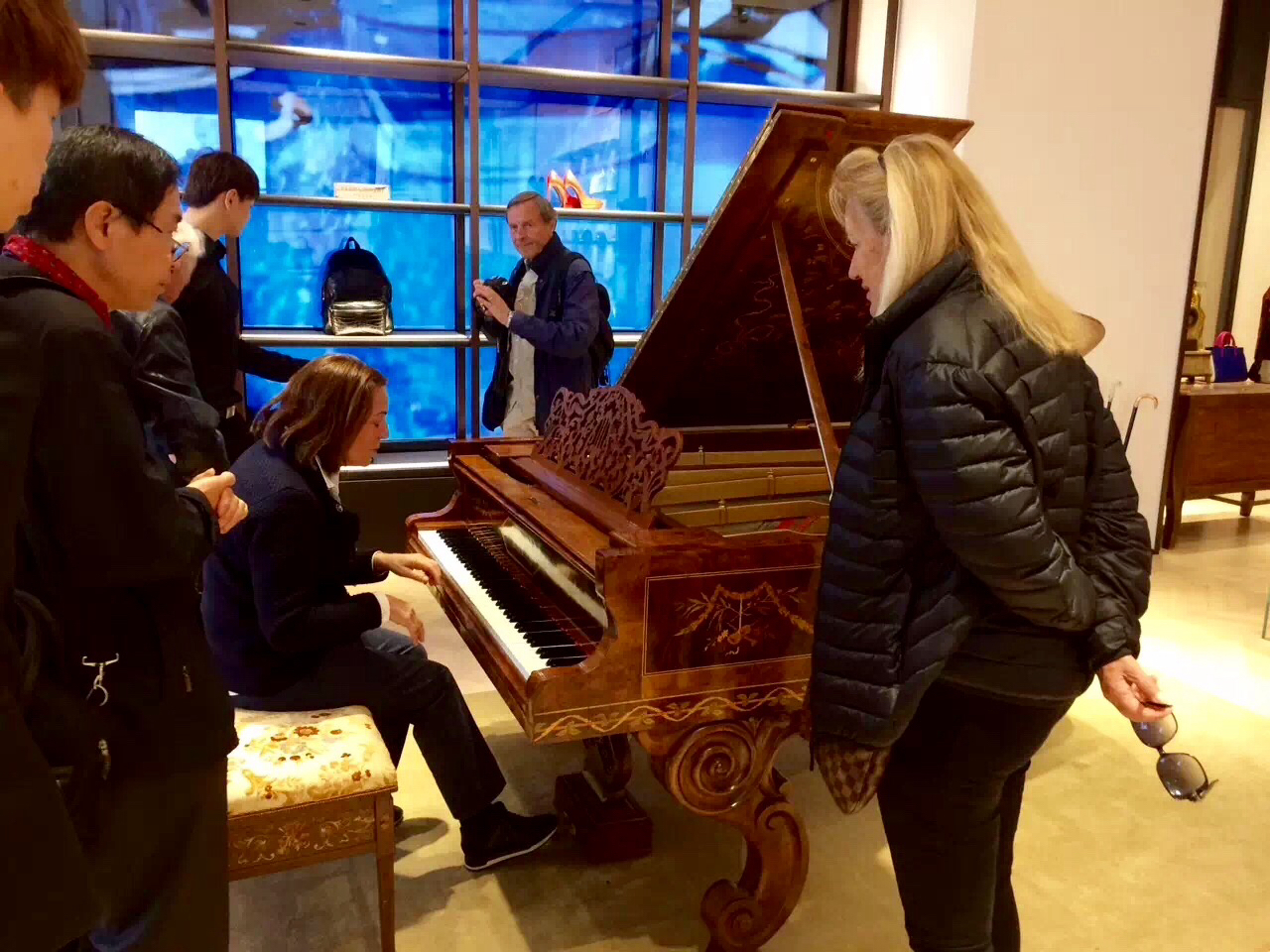 steinway and sons essay The head of steinway recalled a promotional essay she wrote for the company,  at the building where she lived, at steinway & sons,.