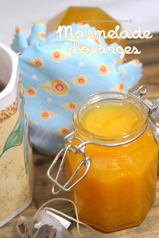Marmelade d'oranges photo 1