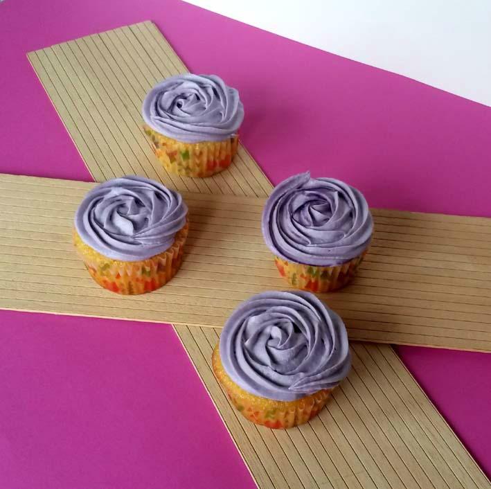 cupcakes violette