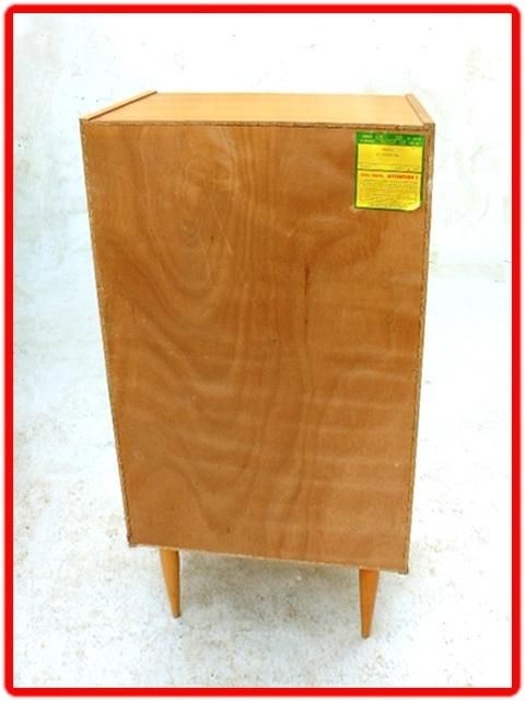 chiffonnier vintage bois clair (6)