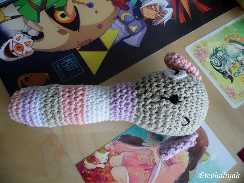 Hochet crochet bébé shiilia - 23 août 2017