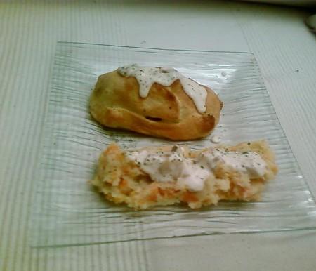 Filet_mignon_de_porc_aux_cepes_en_cro_te_et_sa_pur_e_maison_pommes_de_terre_carotte