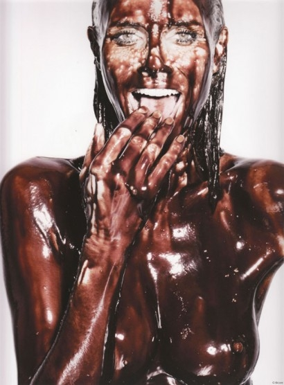 heidi klum-nude chocolate