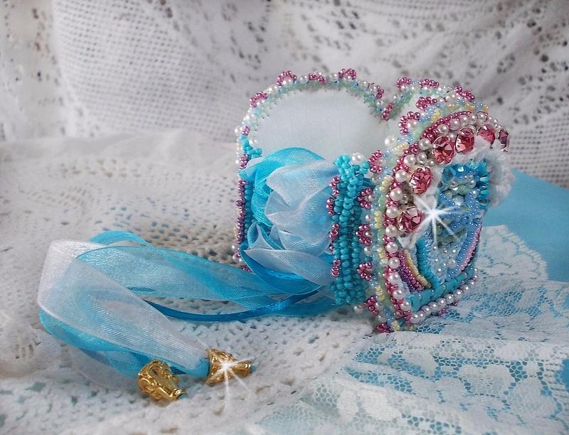 Bracelet Beauty Aliica Blue 11-1