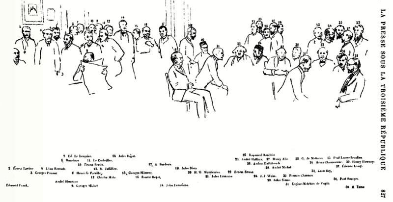 Histoire presse française 1900 Henri Avenel page 827