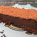 Le 200 : le plus fondant des gâteaux au chocolat...