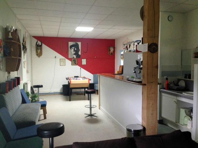 Salle détente des MDR