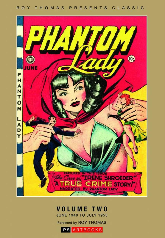 roy thomas presents classic phantom lady vol 2 hC