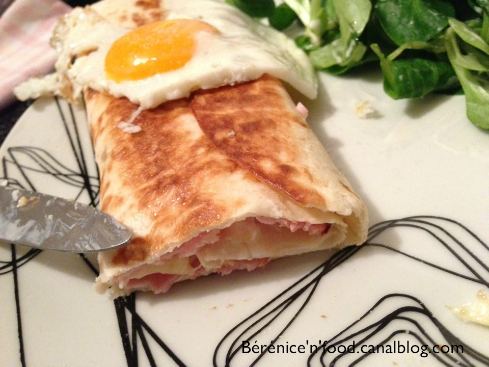 recette n 13 wraps croque monsieur blogs de cuisine. Black Bedroom Furniture Sets. Home Design Ideas