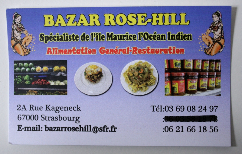 bazar rose hill