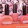 .:* Dans la famille vernis je voudrais ... un nuancier de rose *:. 