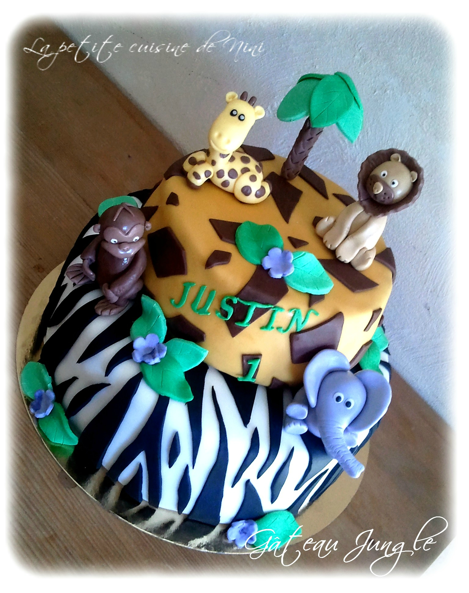 Gateau de jungle