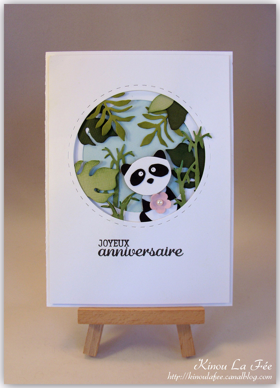 Carte Foxy Friend Panda 1