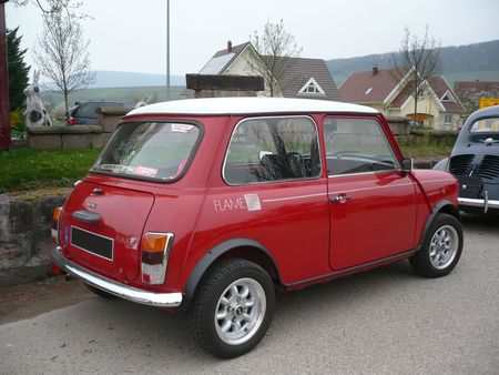 MINI 1000 Flame Red 1989 Soultzmatt (2)
