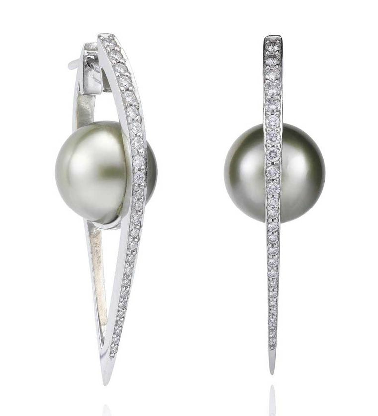Boodles, Cutting Edge Pearl Earrings & Rococo Pearl Necklace