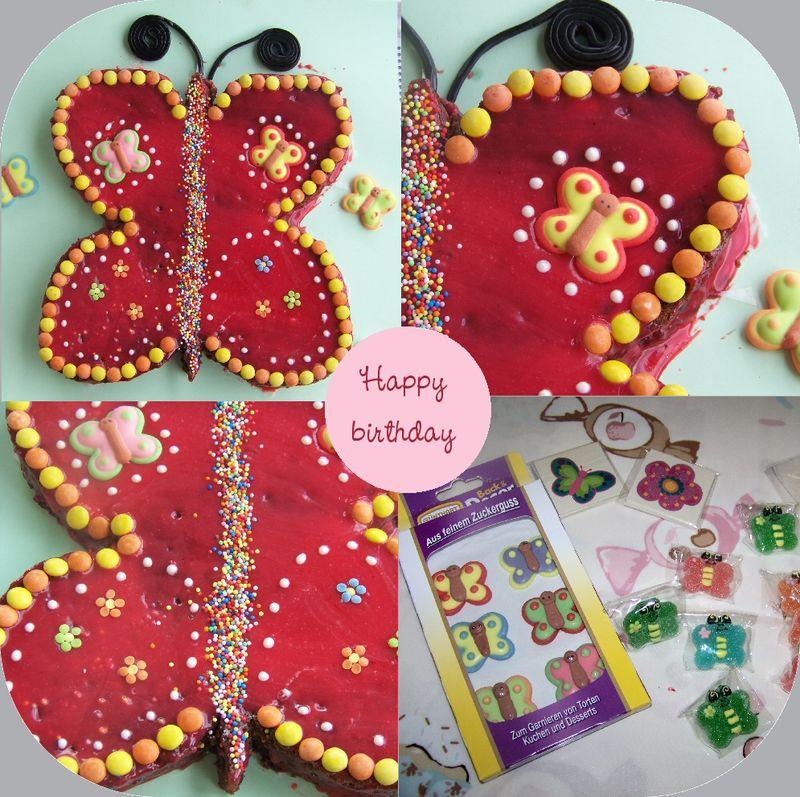 3 ans #2 - le gâteau papillon - bulles de bonheur