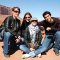 Monument Valley : Sophie, Nadège, Coralie, Bruno