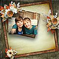 When fall meets winter - Kit collab by Ilonkas Scrapbook Designs & ScrapAngie