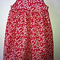 robe little girl 1 Liberty mistsi rouge