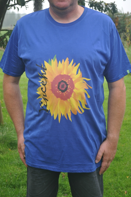 T-shirt sunflower blue - DSC_0251