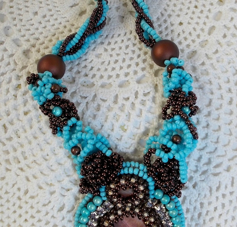 Collier Turquoise 7-1