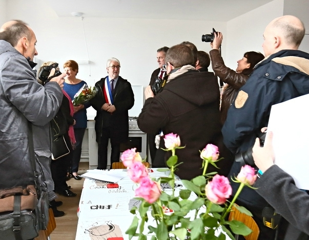 RESIDENCE JULES DECAMP INAUGURATION 2017 Marie-France Guérin