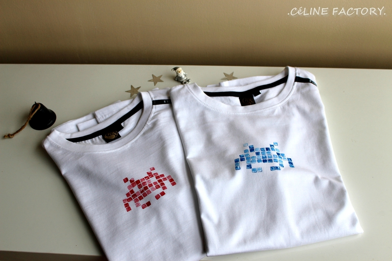 T-shirt Space Invaders 6