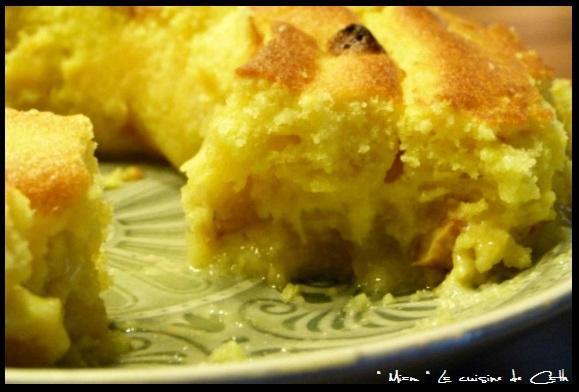 """ღ """" Miam """" Apfelmuskuchen ( ou Gâteau à la compote de pommes )"""