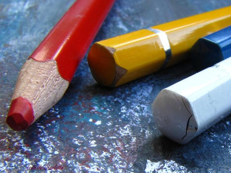 photo du mois crayons