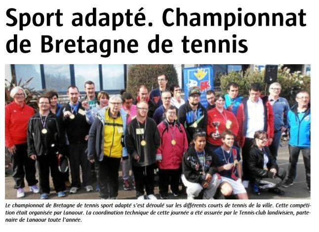 R Gional Tennis 2015 Landivisiau Le Blog De Ligue De Bretagne Du Sport Adapt