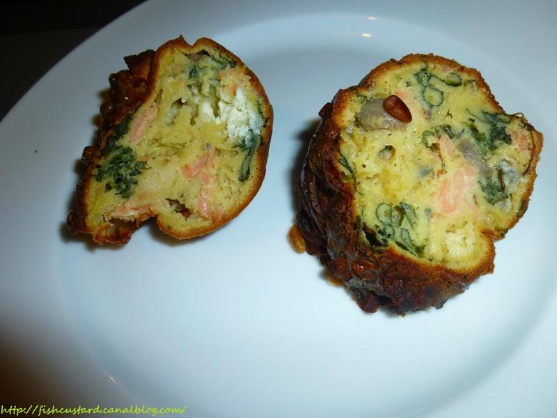 Cake salé moelleux saumon-blettes-chèvre (13)