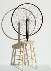 Duchamp roue bicyclette