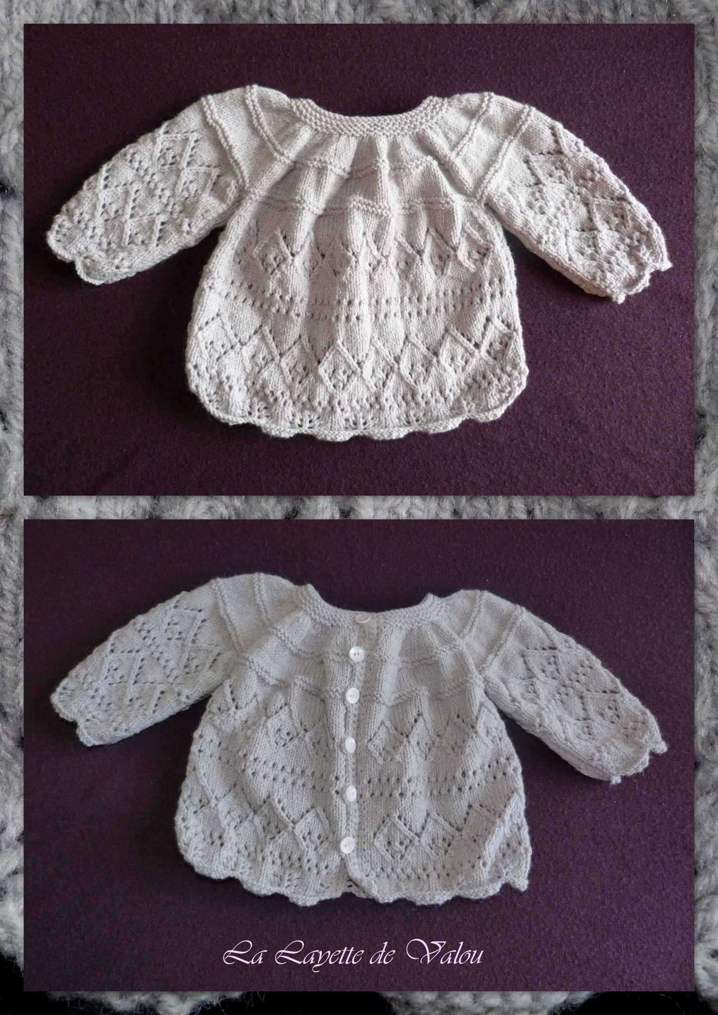 modeles layette