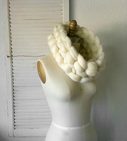 Giant Wool Neck Warmer