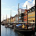 Copenhague : quartier de Nyhavn