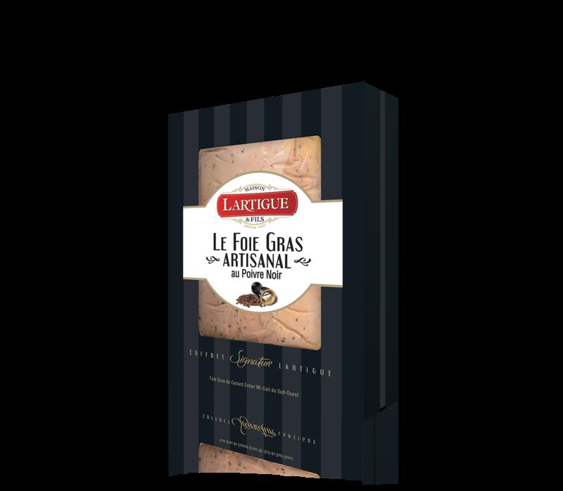 Lartigue et fils - foie gras - poivre noir - 300g