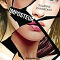 Imposteur tome 1 - suzanne winnacker