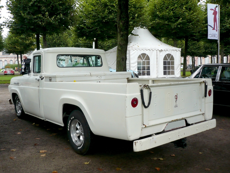 FORD F-100 Custom Cab 2door pick-up Schwetzingen (2)