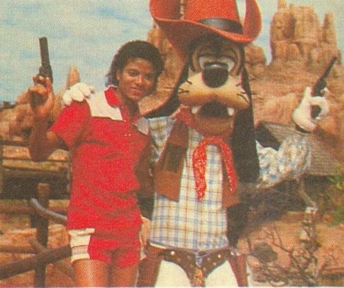 MJ & disney Pippo_jpg
