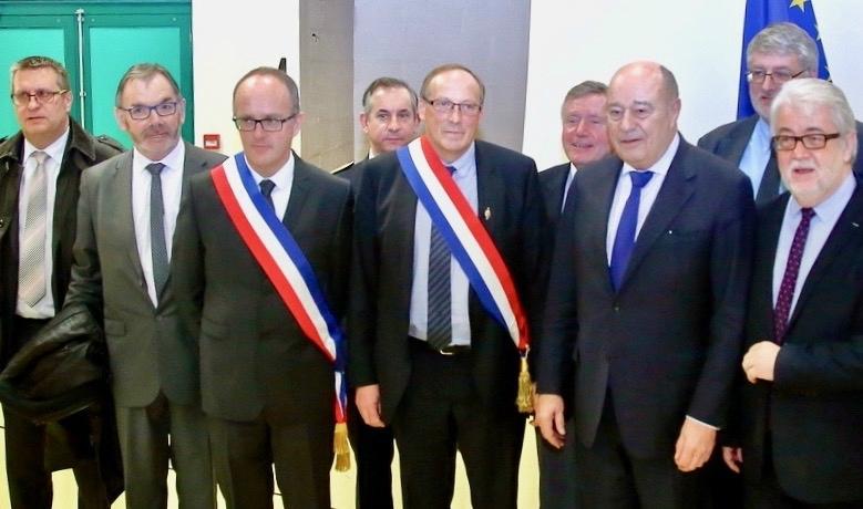 PAYS THIÉRACHE CONTRAT RURALITÉ 2017 signataires Jean-Michel Baylet