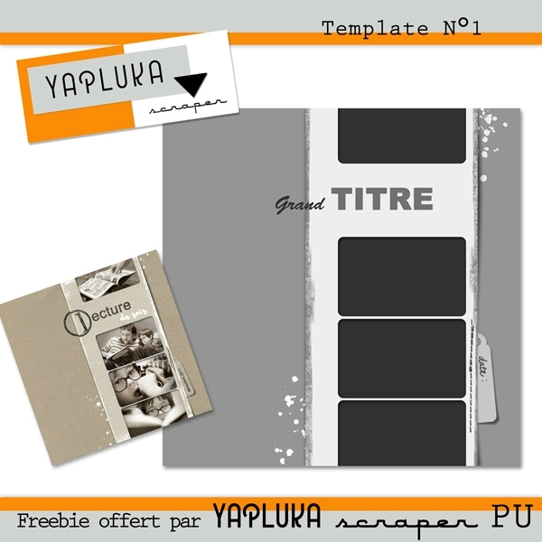 Yapluka - template N°1 preview
