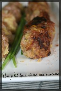 Boulettes porc parfumes