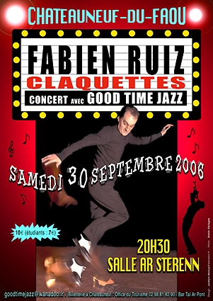 Affiche : Fabien Ruiz & Good Time Jazz