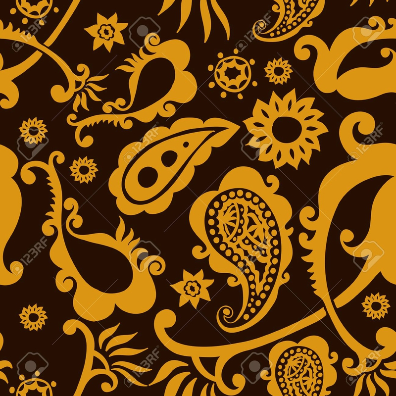 12201792-beau-fond-d-or-paisley-seamless-pattern-Banque-d'images