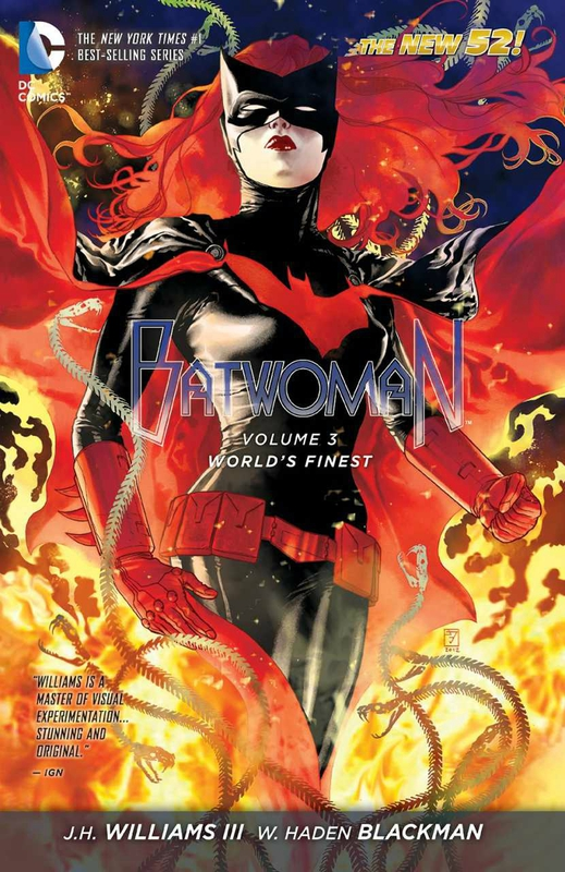 batwoman vol 3 world's finest TP