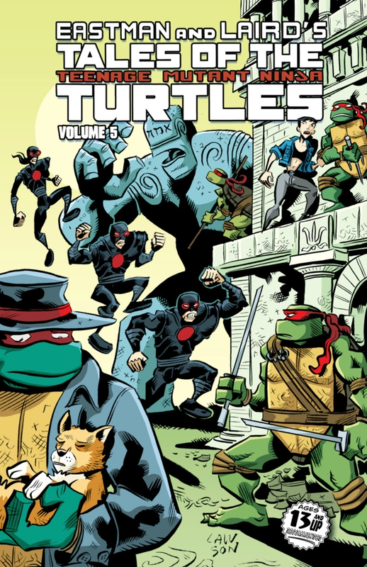 IDW TMNT tales of the TMNT vol 05 TP