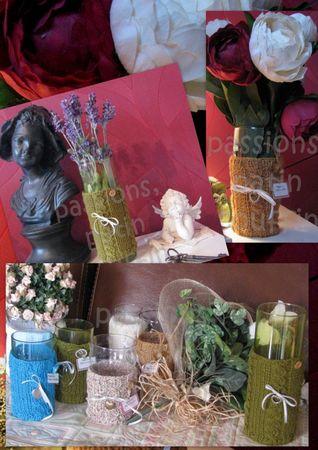 vases fleurs