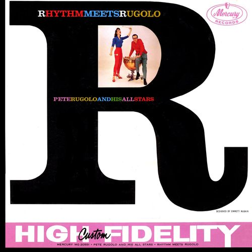 Pete Rugolo And His All Stars - 1956 - Rhythm Meets Rugolo (Mercury)
