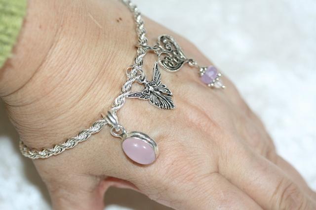 bracelet fee quartz rose5