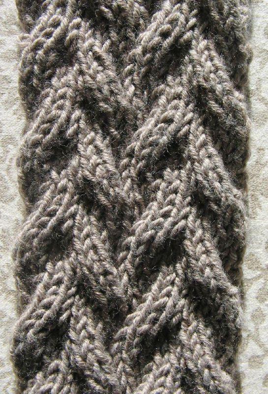 comment tricoter des torsades reversibles